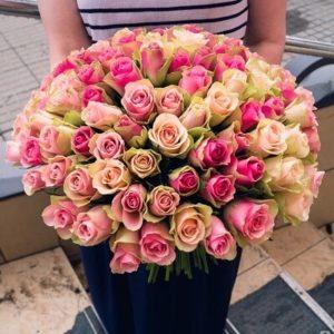 Розы Кения 51шт