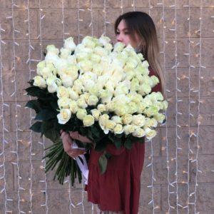 101 роза 80 см